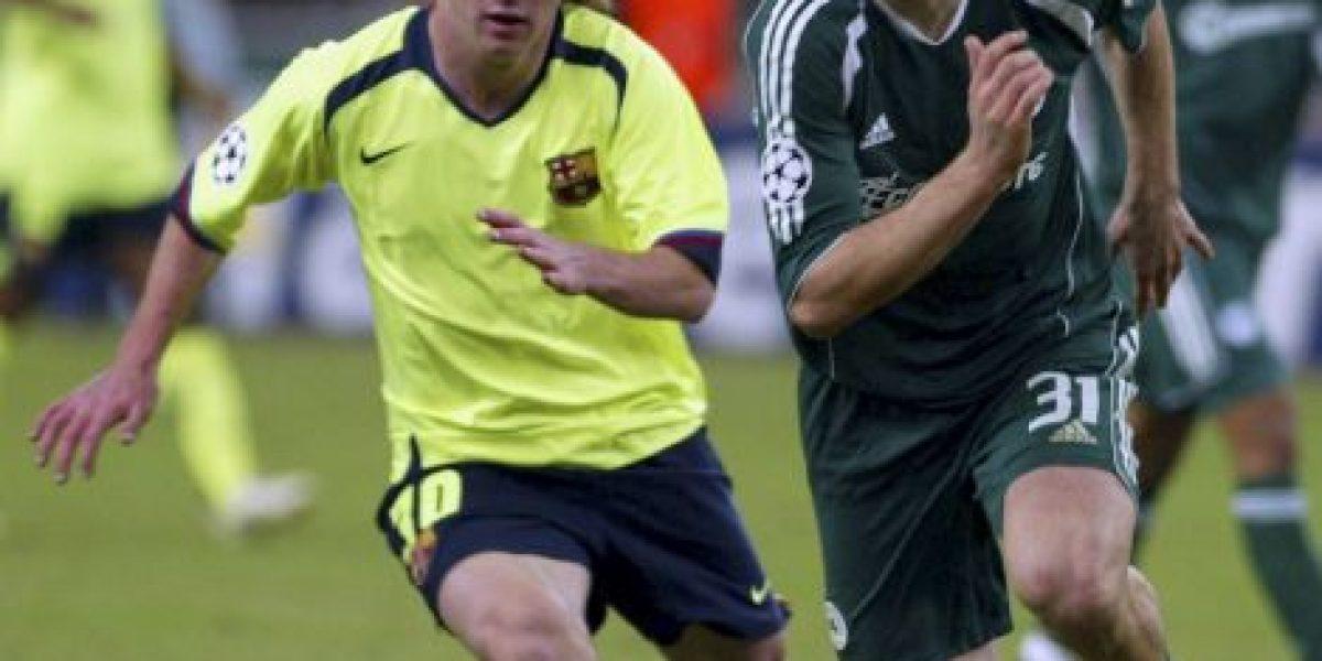 FOTOS: Así se veían las actuales estrellas del fútbol en sus inicios