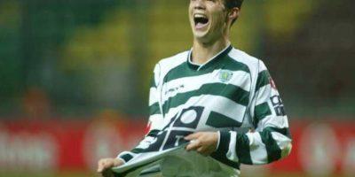 Cristiano Ronaldo debutó con el Sporting de Lisboa Foto:Getty