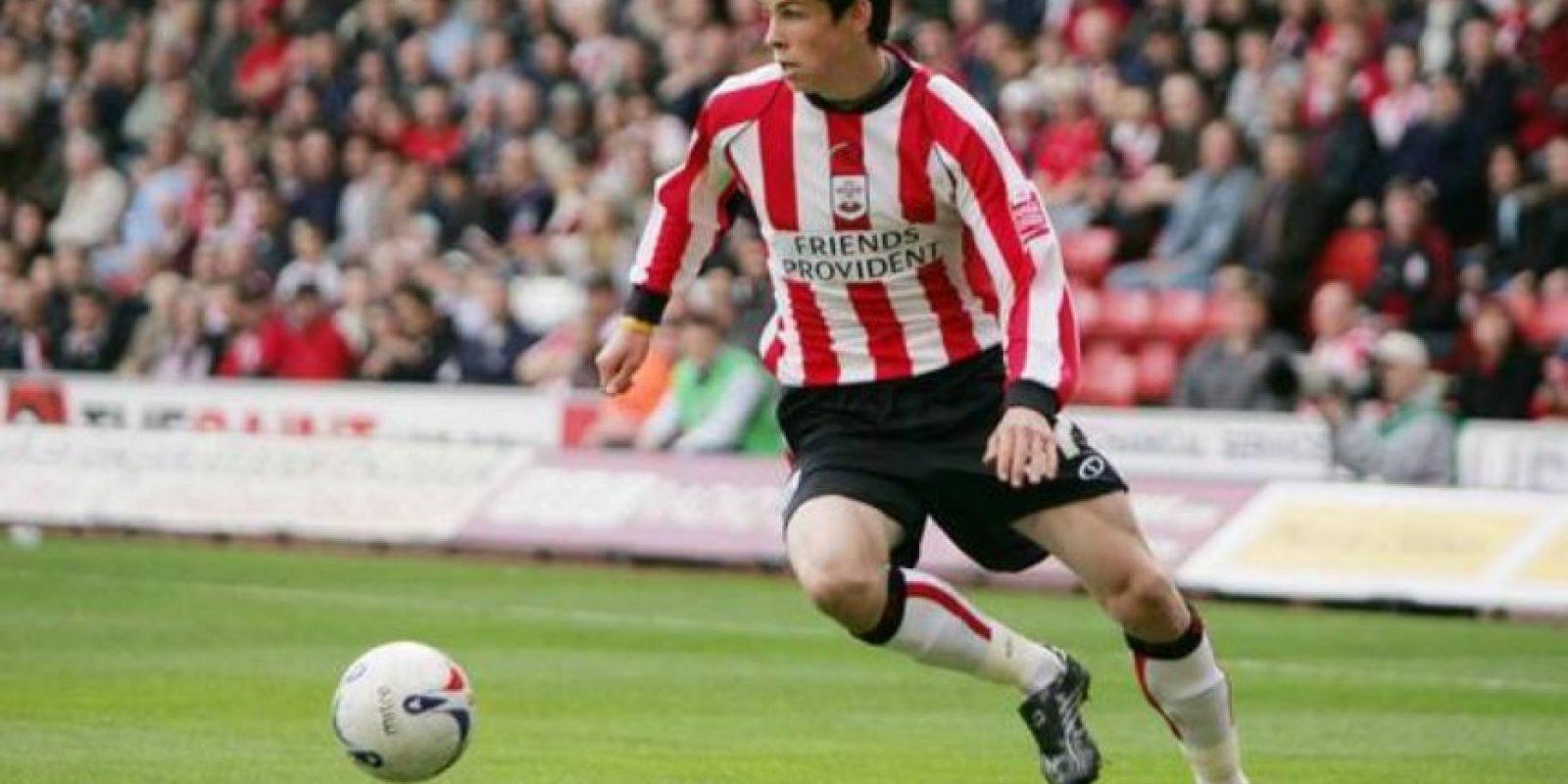 Gareth Bale debutó con el Southampton en 2007 Foto:Getty