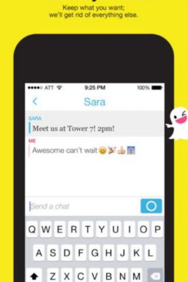 Snapchat es un servicio de mensajería instantáneo disponible de forma gratuita. Foto:Snapchat