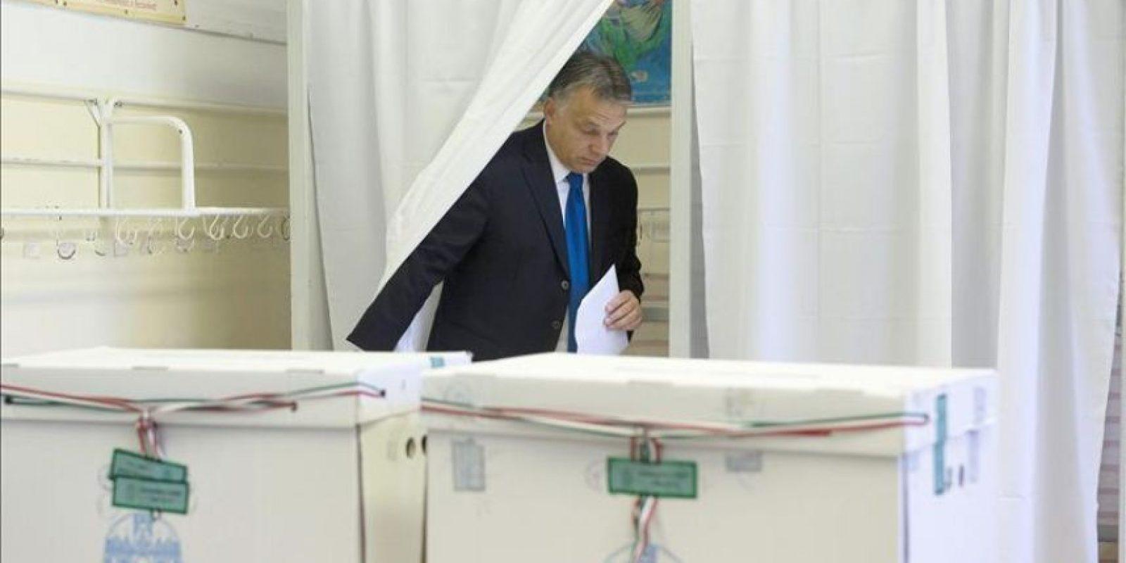 El primer ministro Viktor Orbán. EFE