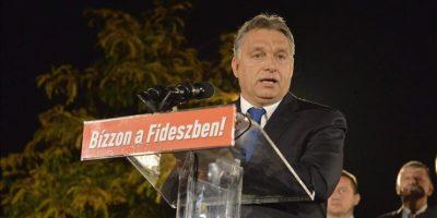 El gubernamental Fidesz, del primer ministro conservador Viktor Orbán, ha arrasado en las elecciones locales celebradas hoy en Hungría. EFE