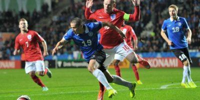 El estonio disputó ante Inglaterra su primer partido como titular Foto:AFP