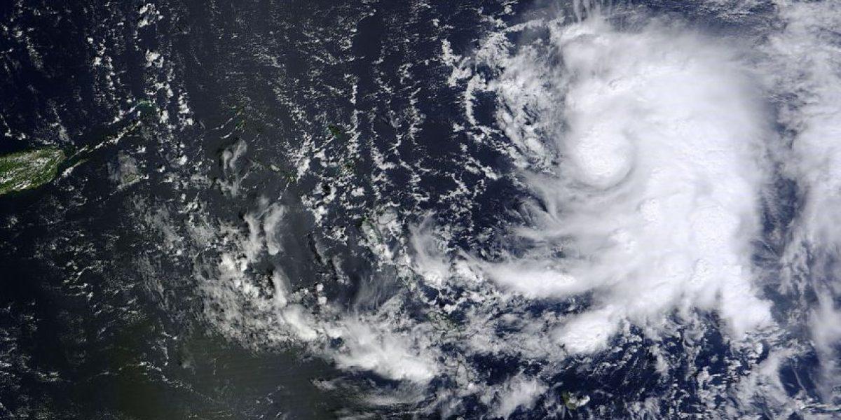 FOTOS: Asi se ve el huracán Gonzalo desde el espacio