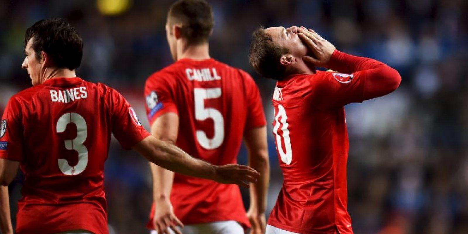 Pero un gol de Rooney le dio la victoria a los ingleses Foto:Getty