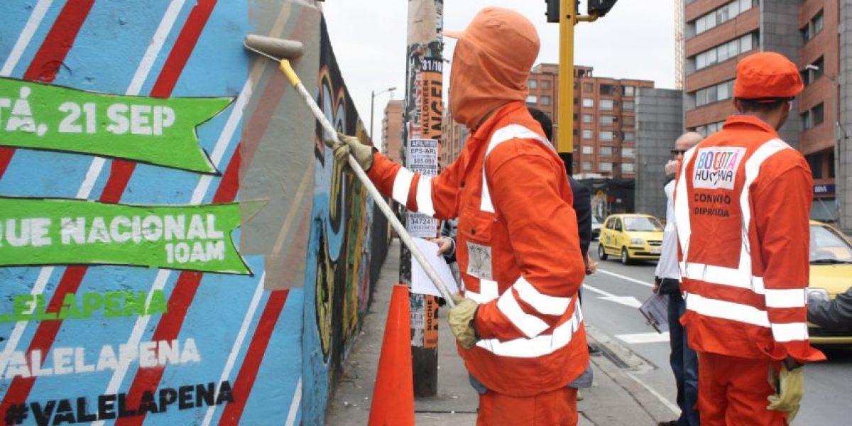 La guerra del Distrito contra los murales ilegales