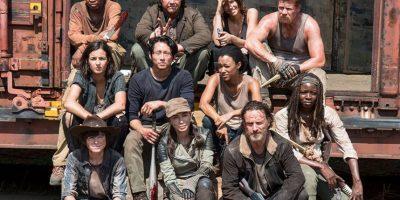 """En las cuatro temporadas de la serie, hemos visto 349 muertes de """"caminantes"""" Foto:Facebook The Walking Dead"""