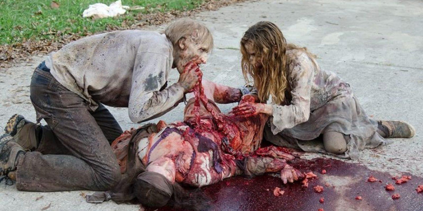 En la tercera temporada hay 17 muertes, 14 fueron provocadas por humanos Foto:Facebook The Walking Dead