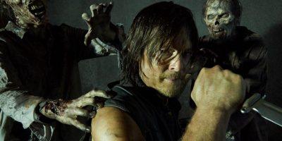 Uno de los productores de la serie se volvió zombi. Foto:Facebook The Walking Dead