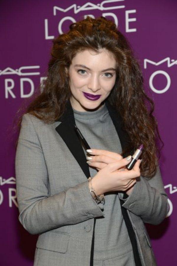 14. Lorde- La cantante de 17 años saltó a la fama con su tema Loyals. Foto:Getty