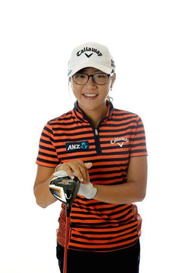 15. Lydia Ko- Tiene 17 años y ocupa el tercer lugar de las mejores golfistas. Foto:Getty