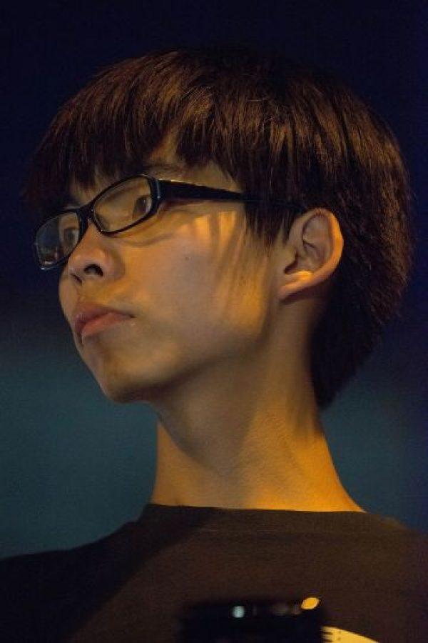21. Joshua Wong- Tiene 18 y salió en la portada de Time por convertirse en la cara de las protestas en Hong Kong. Foto:Getty