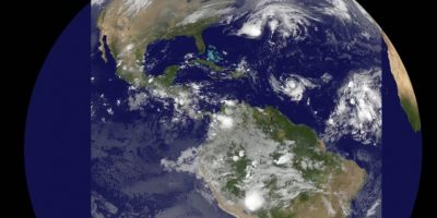Foto: Vía NASA/NOAA GOES Project