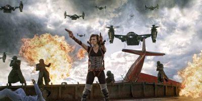 """La cuarta entrega de esta saga se desarrolla en Los Ángeles, donde """"Alice"""" (Milla Jovovich) rescata a los únicos sobrevivientes del """"virus-T"""" para después luchar contra """"Albert Wesker"""" el jefe de la corporación """"Umbrella"""". Foto:Facebook/Resident Evil"""