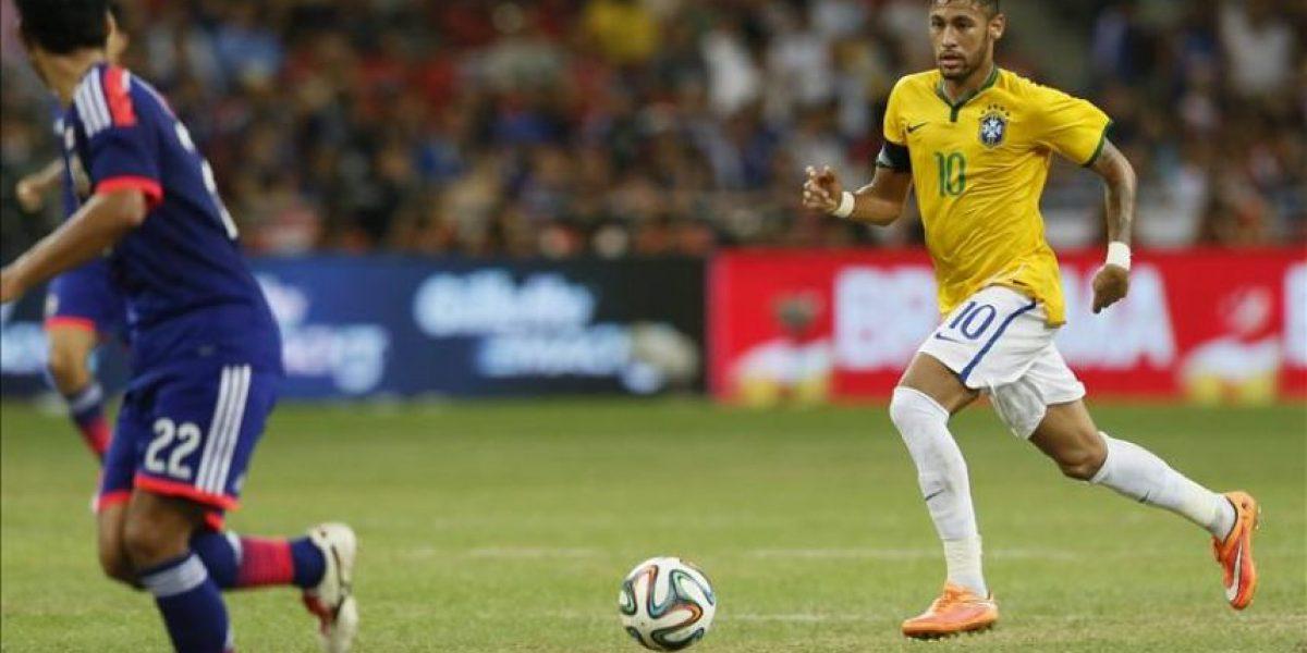 4-0. Brasil, con cuatro de Neymar, derrota a Japón y prolonga su invicto