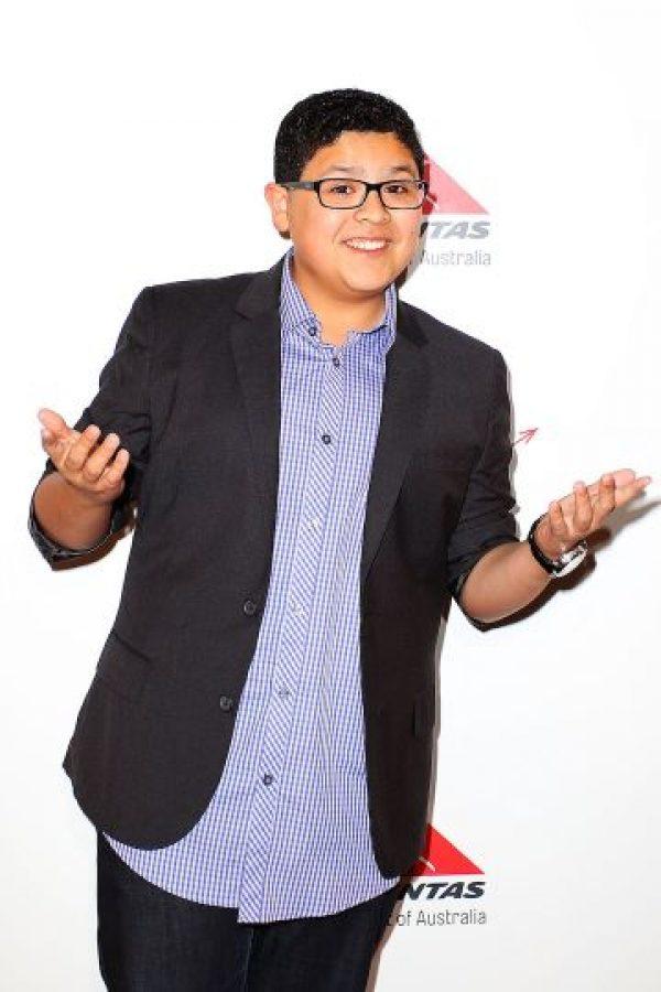 8. Rico Rodriguez- El actor de 16 años saltó a la fama con su participación en la serie Modern Family. Foto:Getty