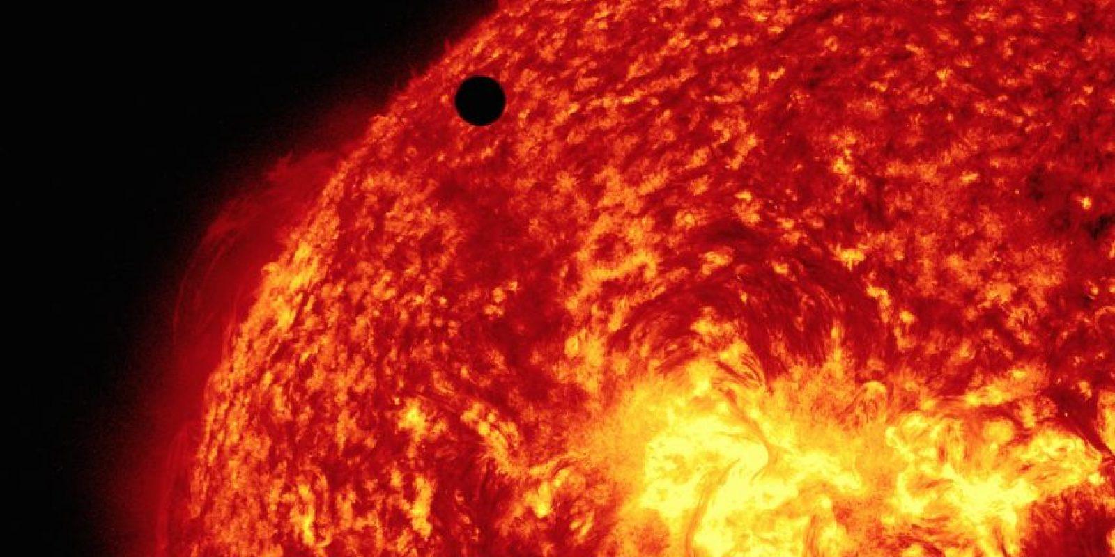 Venus alrededor del Sol Foto:Getty Images