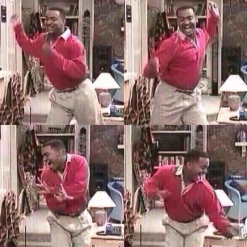 """El baile """"The Carlton"""" surgió en la serie """"El príncipe del rap"""" Foto:Twitter"""