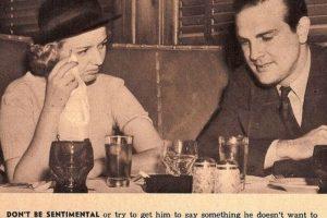 """""""No seas sentimental ni muestres tus lágrimas en público. Eso incomoda a los hombres"""" Foto:Click Photo Parade"""