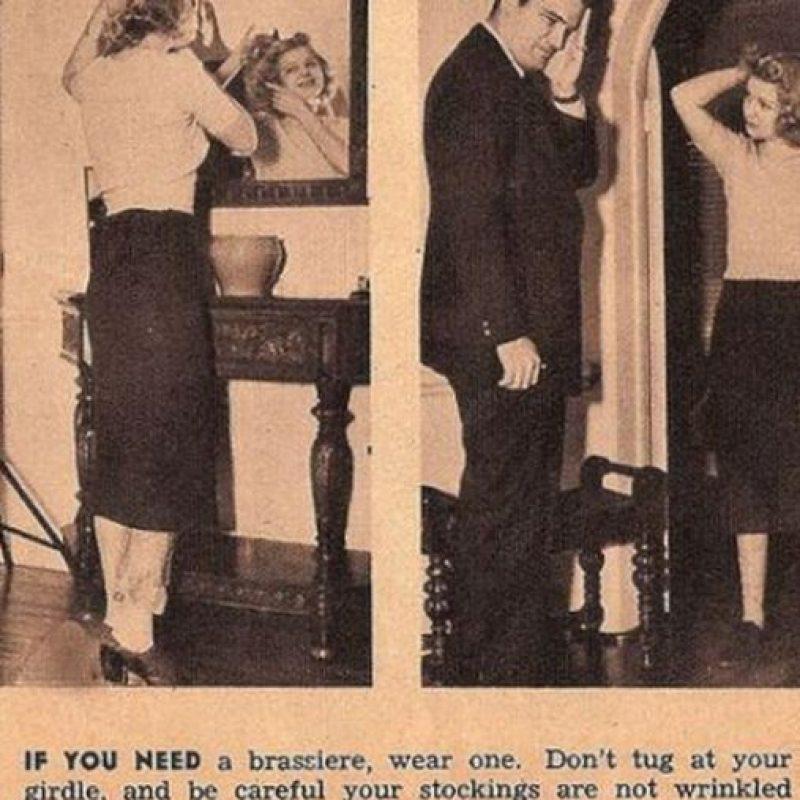 """""""Si necesitas un bra, obtén uno y no dejes que tus medias se arruguen"""" Foto:Click Photo Parade"""