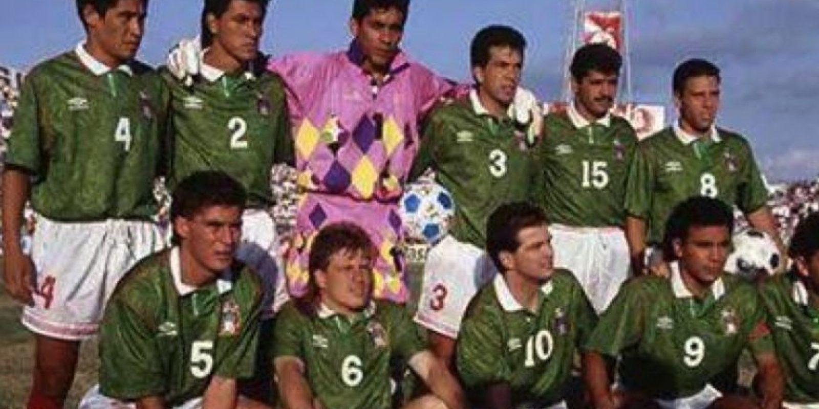 Fue un líder de la Selección de México durante tres Mundiales Foto:Facebook: Jorge Campos