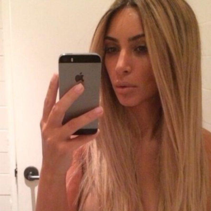 Es una de las personalidades más seguidas Foto:Instagram @kimkardashian