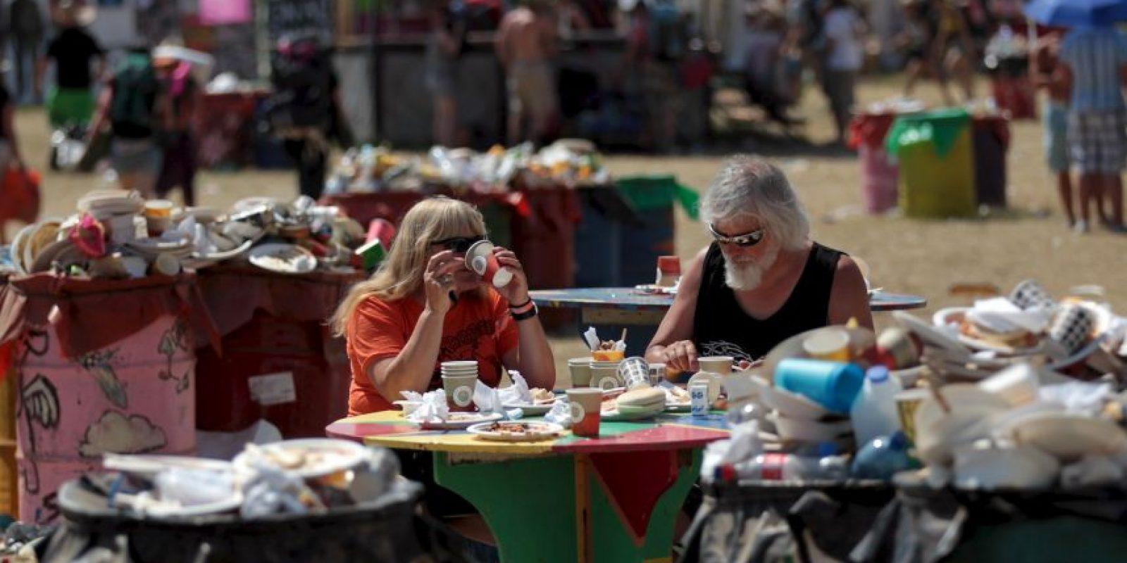 El porcentaje calculado de alimento desperdiciado por los daneses es de 660 kilogramos por persona al año. Foto:Getty Images