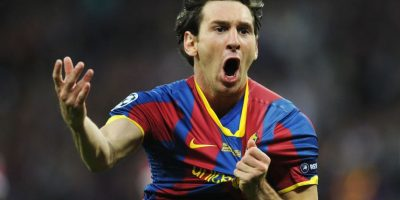Messi hizo un gol en la final que el Barcelona venció 3-1 al Manchester United. Foto: Getty Images