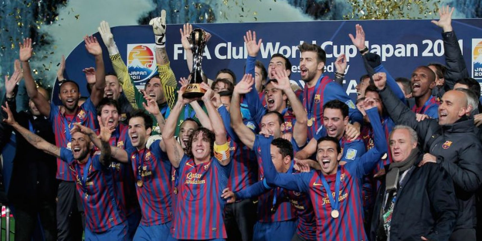 En 2011, ganó el Mundial de Clubes disputado en Japón. Foto:Getty Images