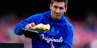 Su tercera Bota de Oro llegó en 2013. Foto:Getty Images