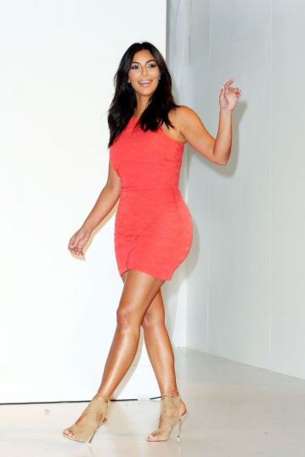 Kim es seguida por lo paparazzi Foto: Getty Images