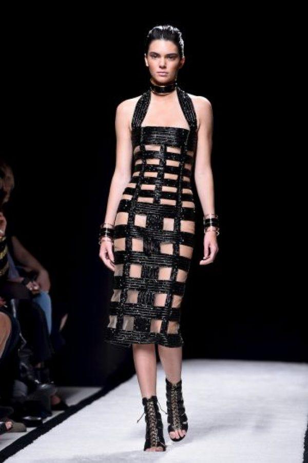 Kendall ha desfilado en los grandes eventos de moda Foto:Getty Images