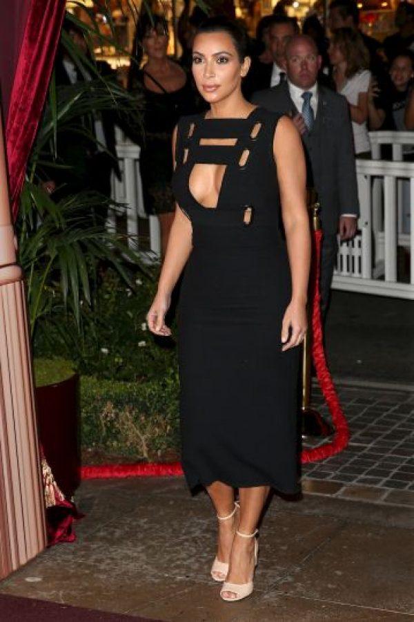 Kim tiene asesores que le dicen cómo vestir Foto:Getty Images