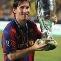 En 2009 también obtuvo la Supercopa de la UEFA. Foto:Getty Images