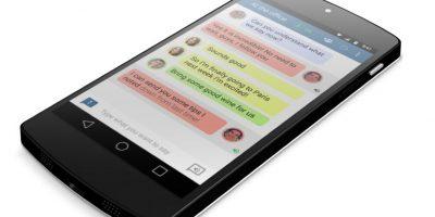 Así luce Transcense para Android. Foto:Transcense