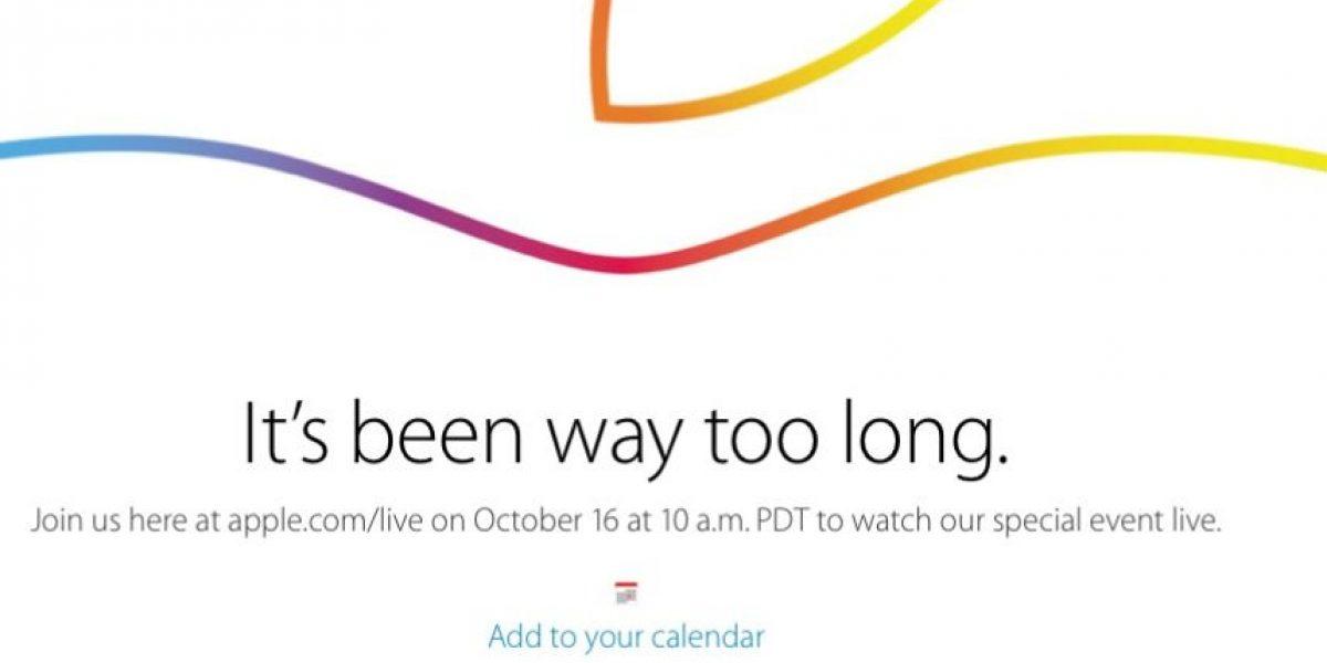 EN VIVO: El evento especial de Apple más esperado de octubre