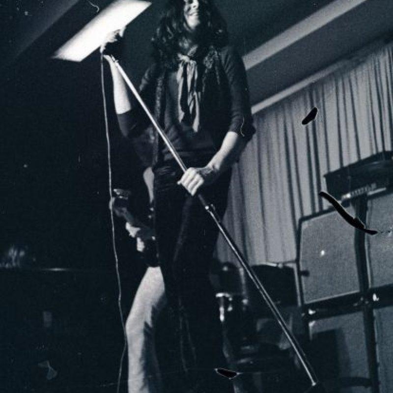 Ian Gillan en los inicios de Deep Purple (1972) Foto:Wikipedia