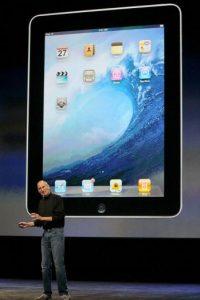 La primera iPad de Apple salió en 2010 Foto:Getty
