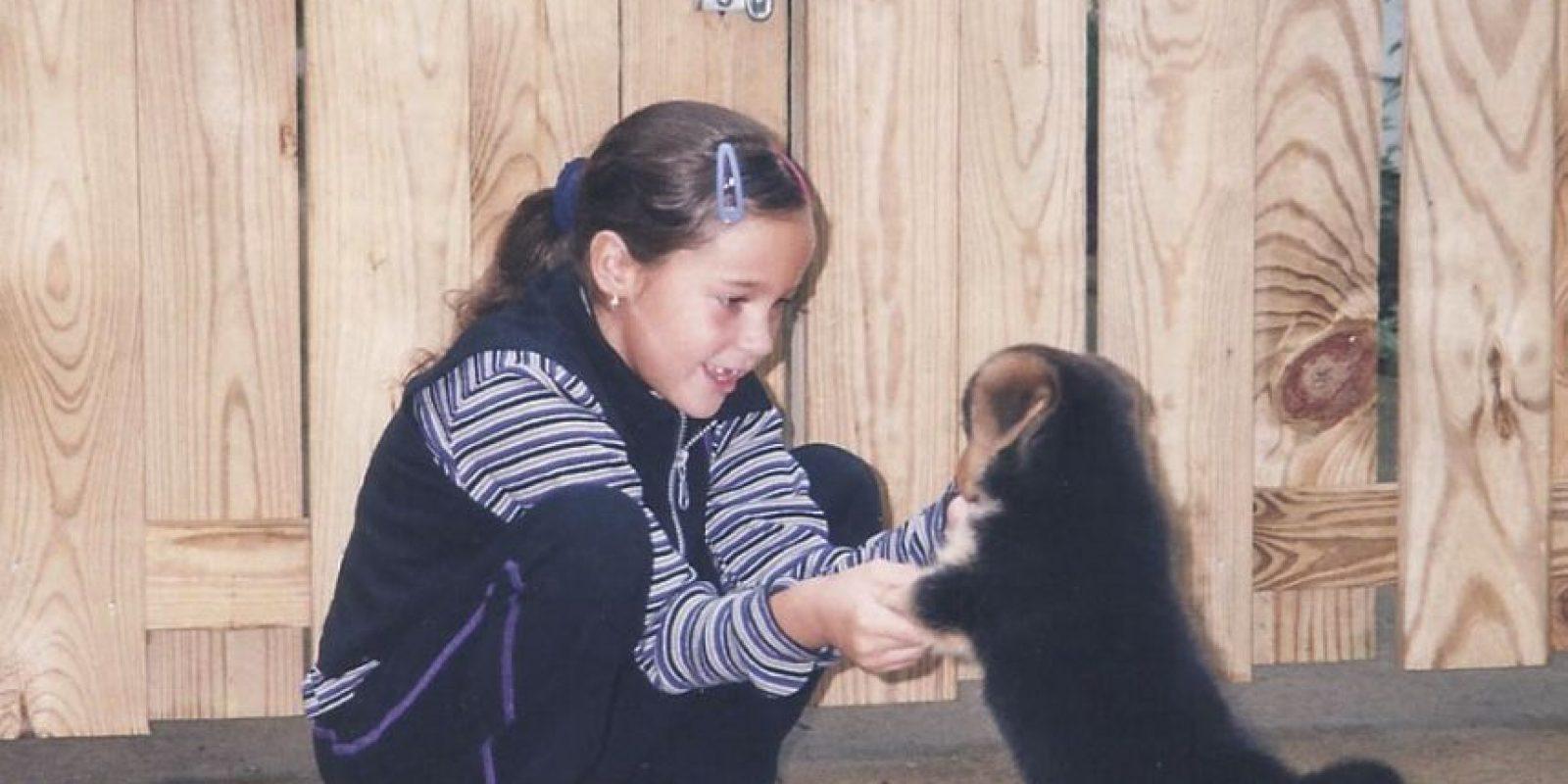 Maria Sharp tuvo a su perrita Chubby desde los 7 años. Foto:Vía www.mariacsharp.com/blog