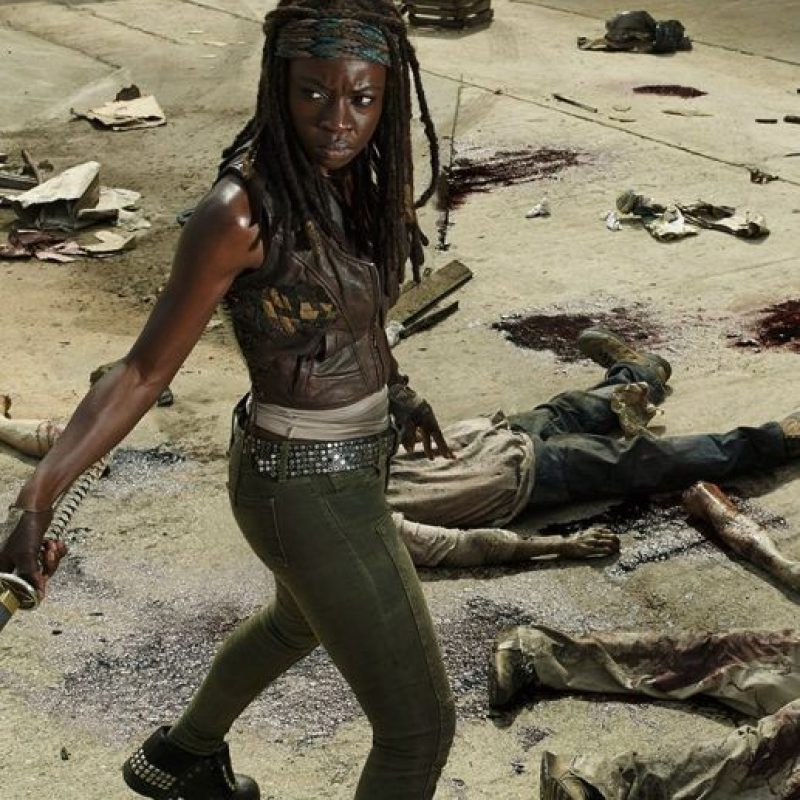 "Michonne Foto: Facebook ""Walking Dead"""