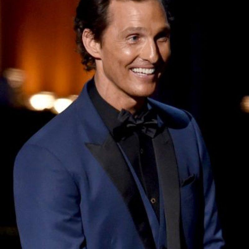El actor Matthew McConaughey Foto:Getty Images