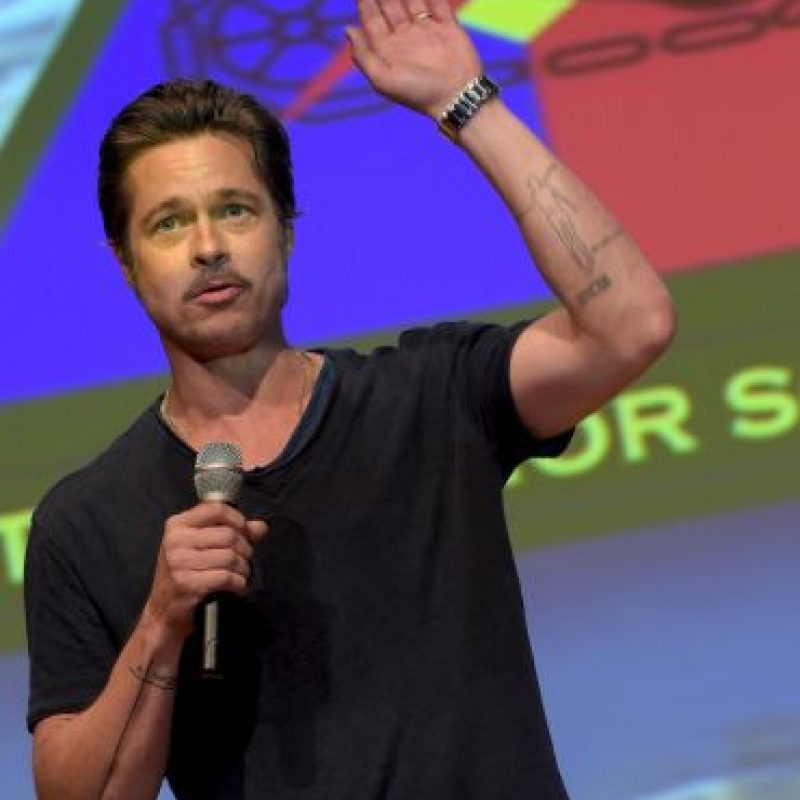 El actor Brad Pitt Foto: Getty Images