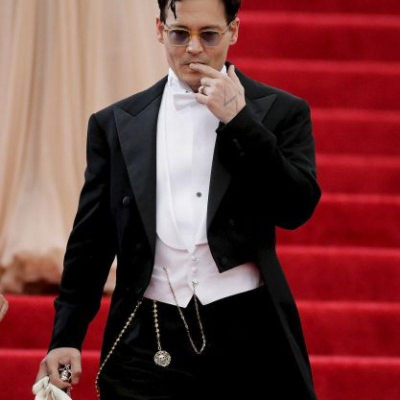 El actor Johnny Depp Foto:Getty Images