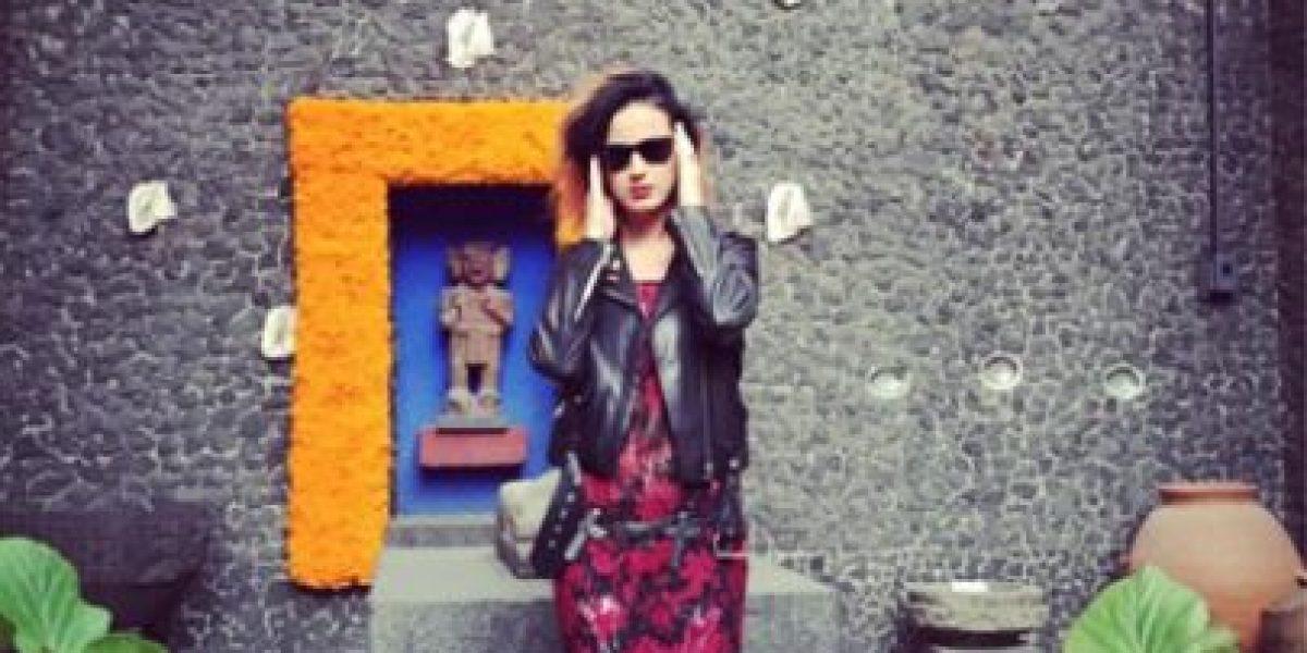 FOTO: Katy Perry conoció a Frida Kahlo