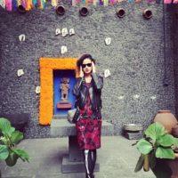 """Katy Perry en """"La casa azul"""", hogar de Frida Kahlo y Diego Rivera. Foto:Instagram/Katy Perry"""