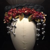 La cantante compartió esta imagen de un tocado de Frida Kahlo Foto:Instagram/Katy Perry