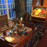 También publicó el antiguo lugar de trabajo de la pintora. Foto:Instagram/Katy Perry