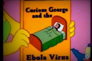 En un capítulo de la temporada noventa, Los Simpson perdijeron el regreso del ébola, enfermedad detectada por primera vez en 1976.