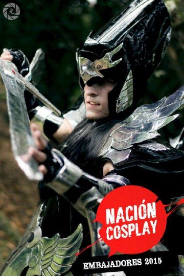 Michael Ete. Foto:Nación Cosplay
