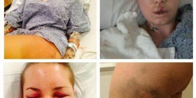 Estas fueron las pruebas que mostró en la red social Foto:Twitter @ChristyMack